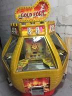 Automat Zręcznościowy Coin Pusher Gold Fort 6stano