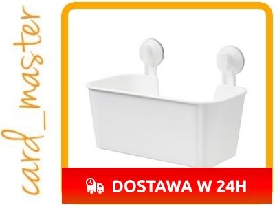 Ikea Stugvik Kosz Z Przyssawkami łazienka 28cm 5719029730
