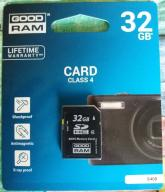 GOODRAM SDHC 32GB.