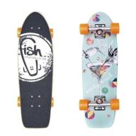 Shortboard PARTY DRINK/SLVR/ORNG Fish Skateboards