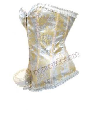 48657c7e0f850a Wiktoriański gorset retro victorian barok ślub XS - 6638038986 ...