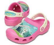 Kids Creative Crocs Frozen Fever Clog j2 34 ~ NOWE