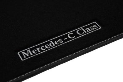 Mercedes C W203 Dywaniki Welurowe Lux 6805722781 Oficjalne Archiwum Allegro