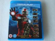 IRON MAN 2 2x BLU-RAY DISC+DVD UK Z KOLEKCJI IDEAŁ