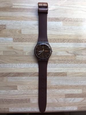 Swatch brązowy super!