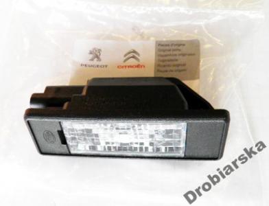 Lampka Oświetlenia Tablicy Peugeot 307 308 406 407