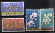 INDONEZJA Kwiaty kwiat Mi:376/79**
