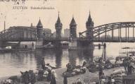 Szczecin - 1913 r. nabrzeże kolejowe WYPRZEDAŻ !