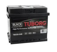 AKUMULATOR TUBORG BLACKCALCIUM 50AH 480A P+