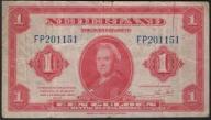161.HOLANDIA - 1 GULDEN - 1943 , st. 4