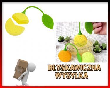 Zaparzacz Do Herbaty Ziół Silikonowy Cytrynka 5741104624