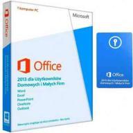 Office 2013 dla Firmy NOWE ZAFOLIOWANE BOX PL
