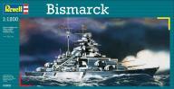 Model do sklejania REVELL Battleship Bismarck 1:12
