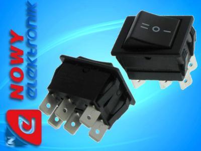 Przycisk przełącznik 3 poz.stabilny ON-OFF-ON 6pin