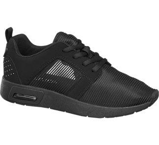 cac4fc59f2230 Deichmann sportowe buty damskie czarne - 6744269861 - oficjalne ...