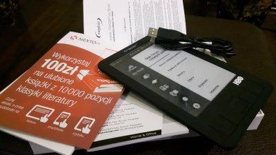 !!! NOWY czytnik Ebook TRACER 6 cali Prezent !!!