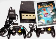 Nintendo GameCube konsola game boy player Rayman