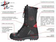 Nowe buty strażackie Rosenbauer Tornado PSP,OSP...