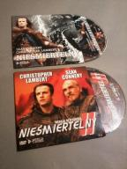 Nieśmiertelny komplet x2 Lambert Connery dvd