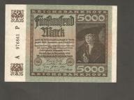 NIEMCY - 5000 marek - 1922 rok !!!