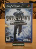 GRA NA PS2 CALL OF DUTY WORLD AT WAR