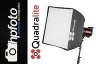 Softbox Quadralite Flex 60x60cm - szybki montaż