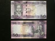SUDAN POŁUDNIOWY - 50 FUNTÓW 2015,UNC