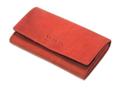 29d4dbc656b83 Długi czerwony damski portfel Always Wild portfele - 5853066744 ...