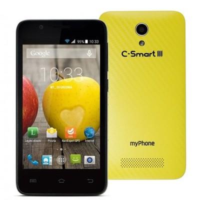 Smartfon Myphone C Smart Iii 4gb 4 Zolty 6682508095 Oficjalne Archiwum Allegro