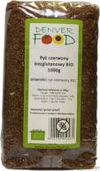 Ryż Czerwony Bezglutenowy BIO 1 kg Denver Food