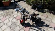 Motorek motorynka elektryczna fajnie śmiga