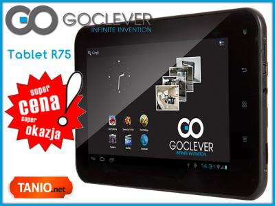TABLET 7 GOCLEVER R75 ANDROID 4.0.4 NAJLEPSZA CENA
