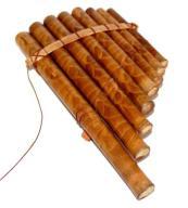 FLETNIA PANA drewniana okryna 8 rurek drewno
