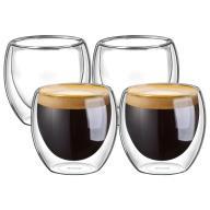 Szklanki do espresso zestaw 4 częściowy Ecooe