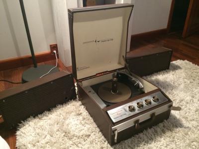 Gramofon lampowy Westinghouse U.S.A Vintage piękny
