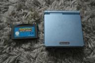 Nintendo Gameboy Advance SP + Mario Kart ładowarka