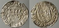 1353. WĘGRY, MACIEJ II HABSBURG, DENAR