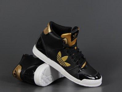 buty adidas originals męskie czarno złite