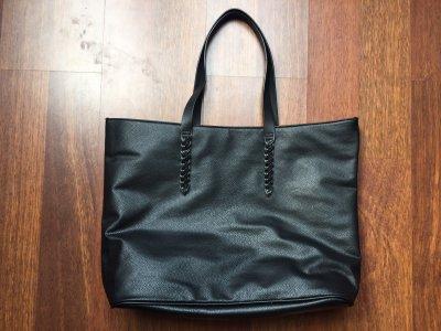85b6f3adceb02 nowa czarna torebka shopper H&M oryginalna - 6392888201 - oficjalne ...
