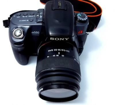 Sony Alfa 550 Torba Obiektyw 6603876590 Oficjalne Archiwum Allegro