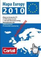 CARTALL MAPA EUROPY 2010 - BOX - NOWA -