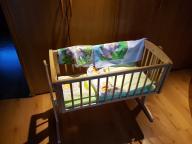 mothercare kołyska drewniana jak nowa kubuś