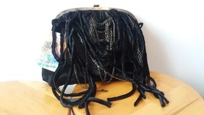 a6222ae5b7131 ZARA torba torebka worek łańcuszek frędzle NOWA - 6803952541 ...