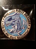 Yu-Gi-Oh! przypinki - Blue-Eyes White Dragon