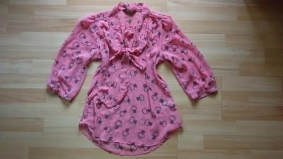 bluzka dorothy perkins 38 róż szyfon wzór