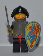 Lego Castle Figurka Rycerz 048 Black Kniight