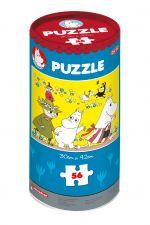 "Muminki Puzzle ""Na łące"" 56 elementów"
