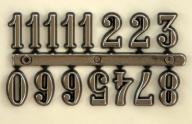 Cyfry arabskie srebrne 15 mm do zegara