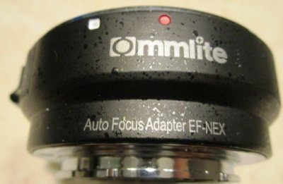 Adapter bagnetowy Commlite Canon EF/Sony E