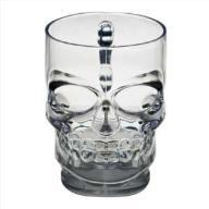 KUFEL CZASZKA 550 ml skull POKAL do piwa czacha